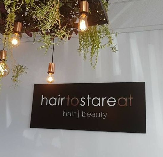 Our salon signage is awesome!