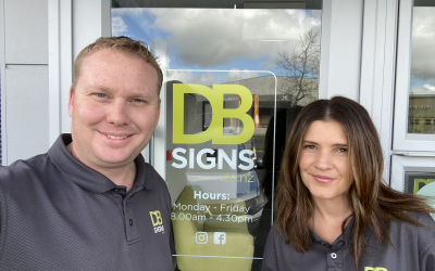 DB Signs welcomes new owners